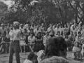 Леопольд Ященко і гомінчани на святі Купала 5.07.1986