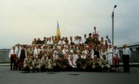 Гомін у військовій частині. 1996