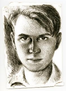 Леопольд Ященко. Автопортрет. 1945-46 рр.