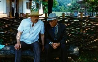 Леопольд Ященко та Іван Гончар. 1980-і