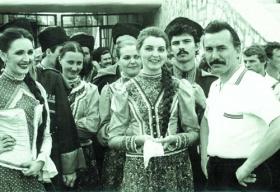 Тетяна Бочтарьова і Віктор Захарченко