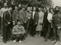 Гості з Кубані біля хати Івана Гончара