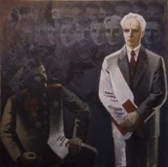 Веніамін Кушнір. Митець і генерал. 1990
